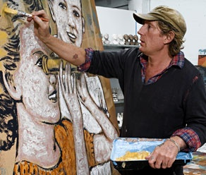 Australian artist - David Bromley