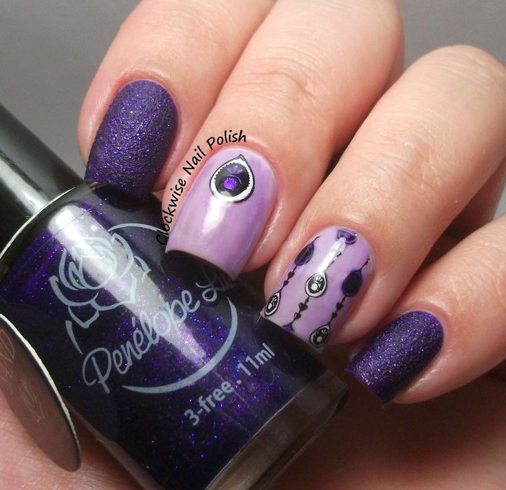 The Nail Art And Beauty Diaries: The Clockwise Nail Polish: Uber Chic Beauty 1-03 Stamping