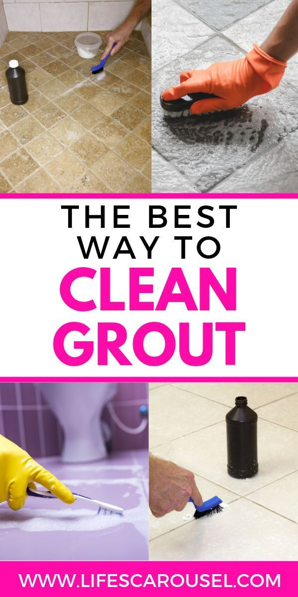 How To Clean Grout The Best Homemade Grout Cleaner Grout Cleaner Homemade Grout Cleaner Homemade Shower Cleaner