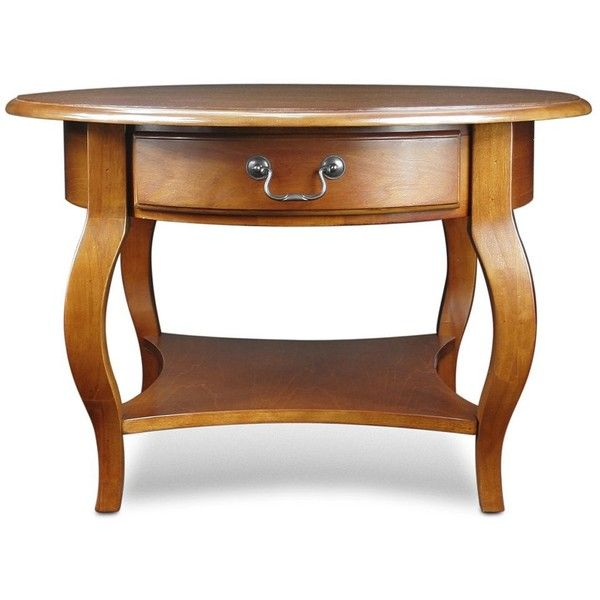 leick furniture round coffee table 320 liked on polyvore featuring home - Leick Furniture