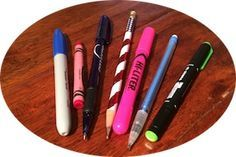 Object lessons using pencils & pens to show how God made each of us special & unique! www.CreativeBibleStudy.com