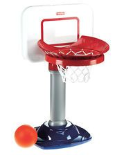 NEW Indoor Kids Fun Play Fisher Price Basketball Hoop Toy Toddler FREE SHIPPING