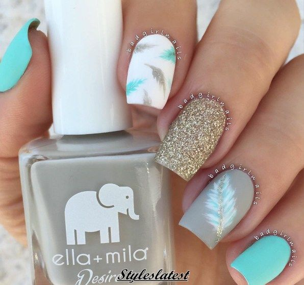 13 Beautiful Nail Color Ideas for Wedding Ceremonies 2017