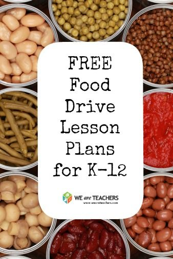 Is your school planning on a canned food drive this fall? Make it even more meaningful with standards-based lesson plans for grades K-5, 6-8 and 9-12 from #NoKidHungry