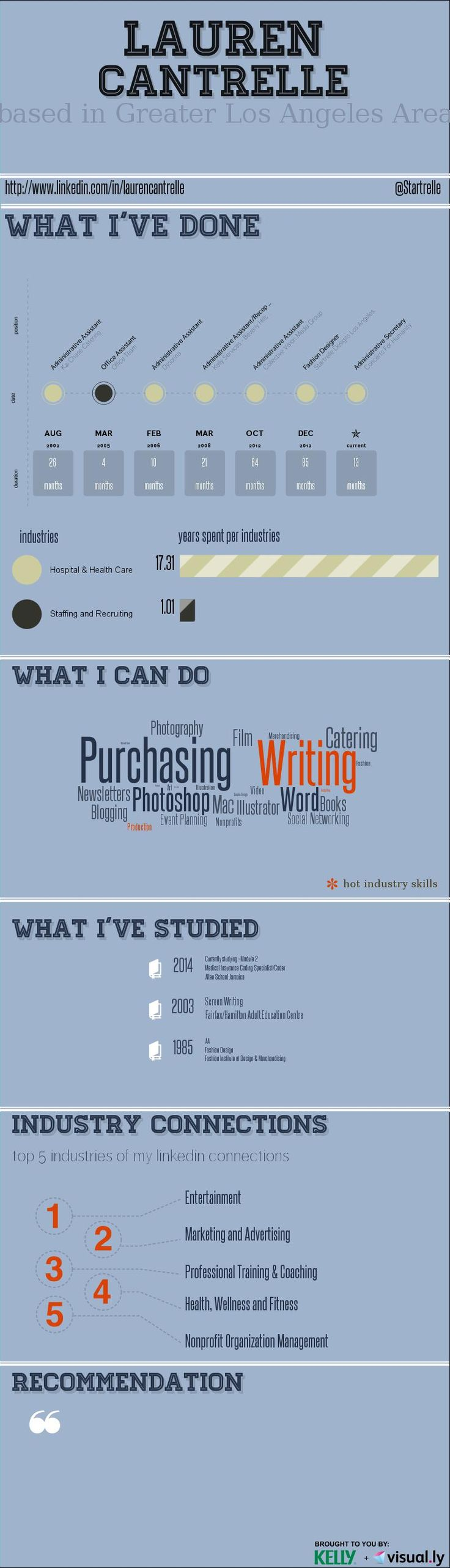 37 best infographic resume images on pinterest