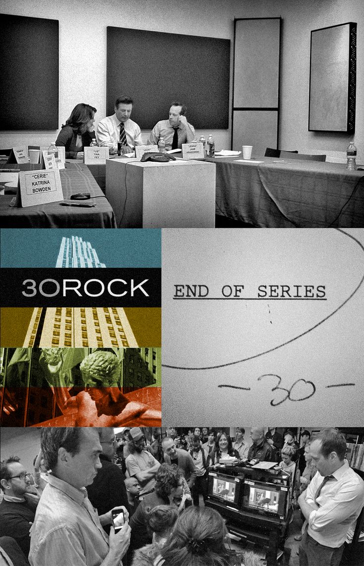 "Behind The Scenes At The Final Days Of ""30 Rock"" by staff writer Tom Ceraulo via Buzzfeed"