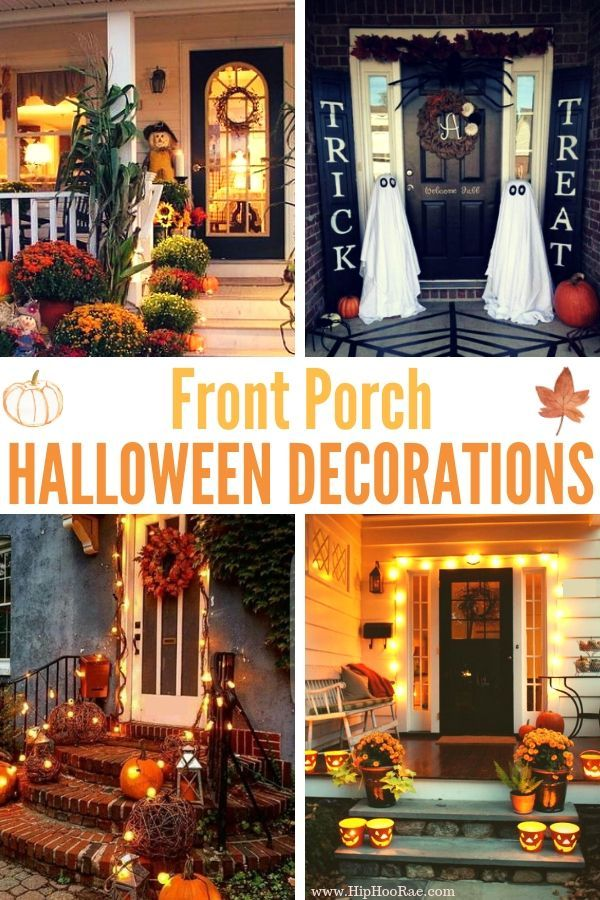 43+ Front porch halloween decoration ideas ideas