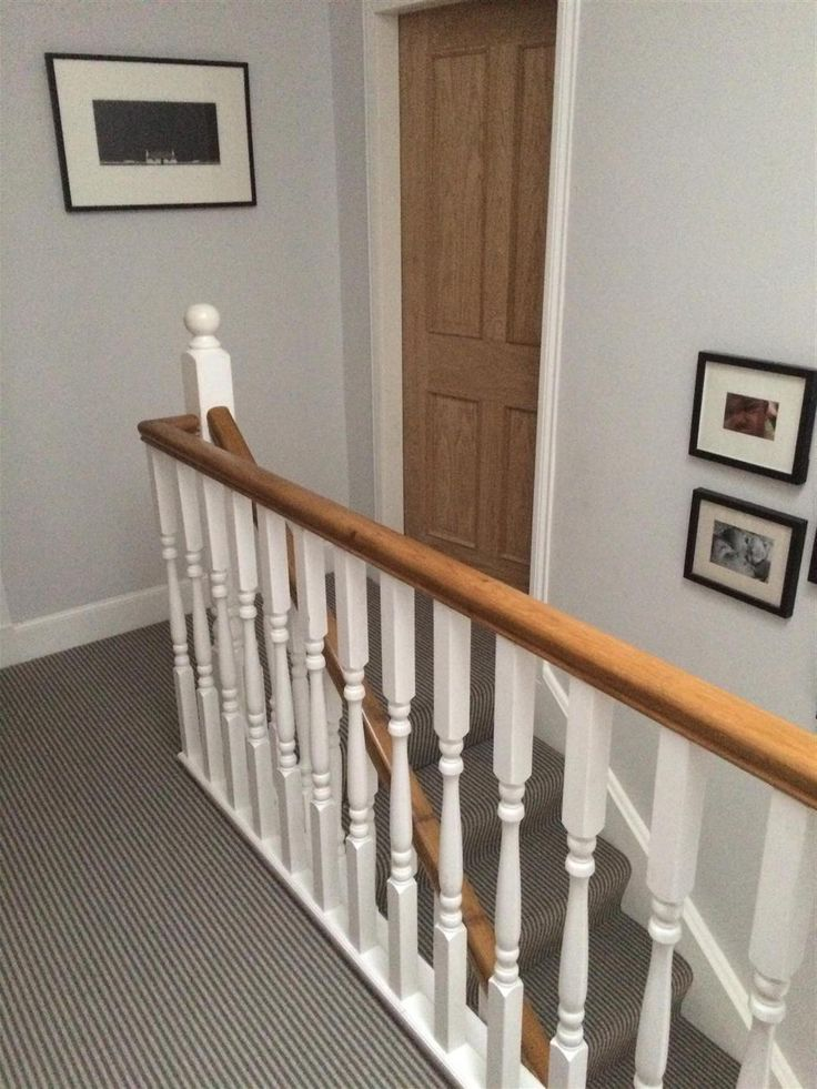 Farrow & Ball Inspiration Ammonite walls. Staircase