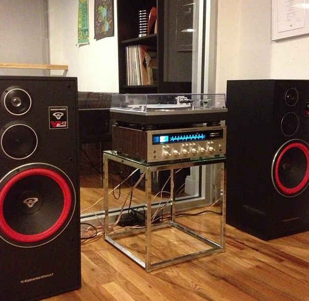 Getting an amazing set of speakers to really complete the experience.