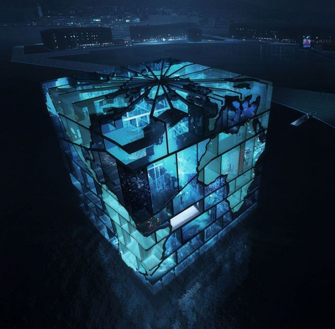 Modern Architecture: Water Cube Pavilion – 2012 World Expo