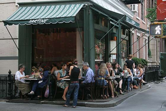 Tartine, west village