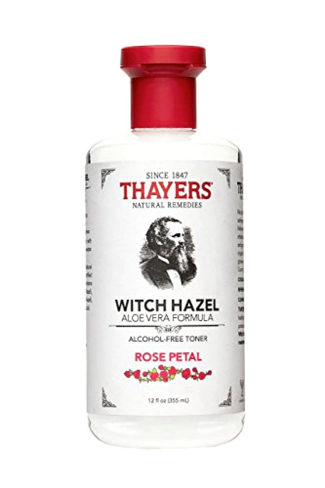 Details about Thayers Alcohol-Free Rose Petal Witch Hazel Toner Aloe Vera, 12 ounce bottle New