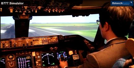 Korean Air B777 Simulator #RishworthAV