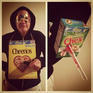 Cereal Killer | 23 Halloween Costume Ideas For The Pun-Lover In You