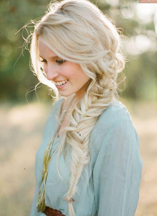 Wedding Trend We Love: Bridal Braids - loose side braid