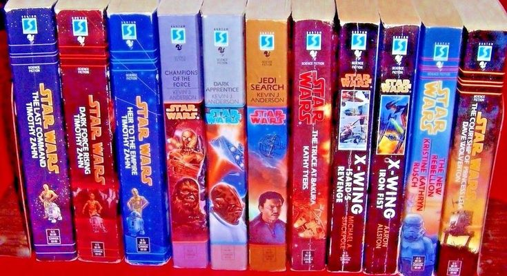 Star Wars Books Lot of 11 Thrawn Trilogy Jedi Search Trilogy X-Wing Rebellion
