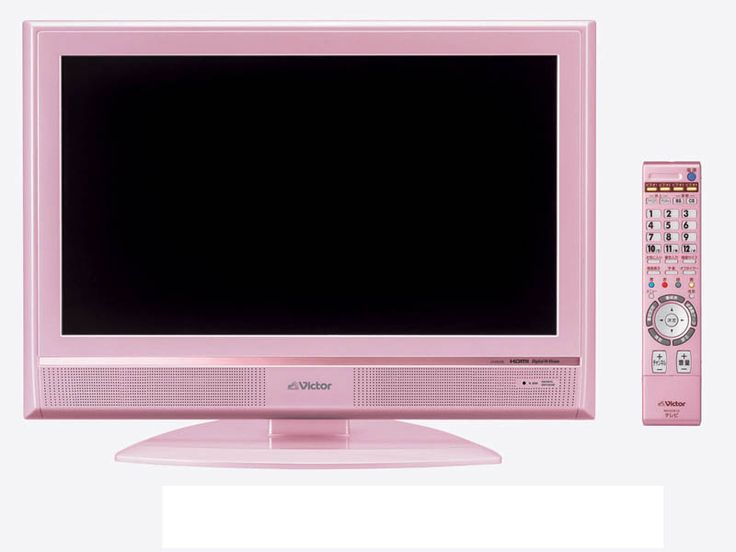 Pink JVC-Victor LCD TV Just Released In Japan