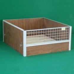 Cassa Parto in legno per cani