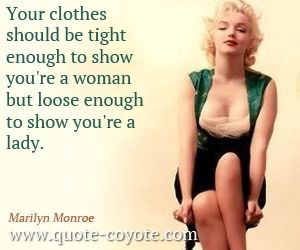 Inspirational quotes – Marilyn Monroe