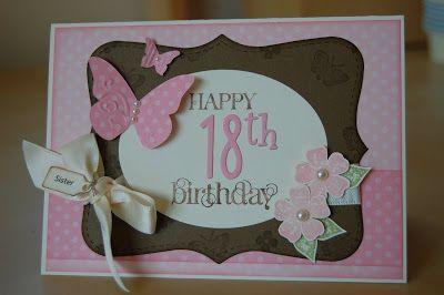 18th Birthday Card
