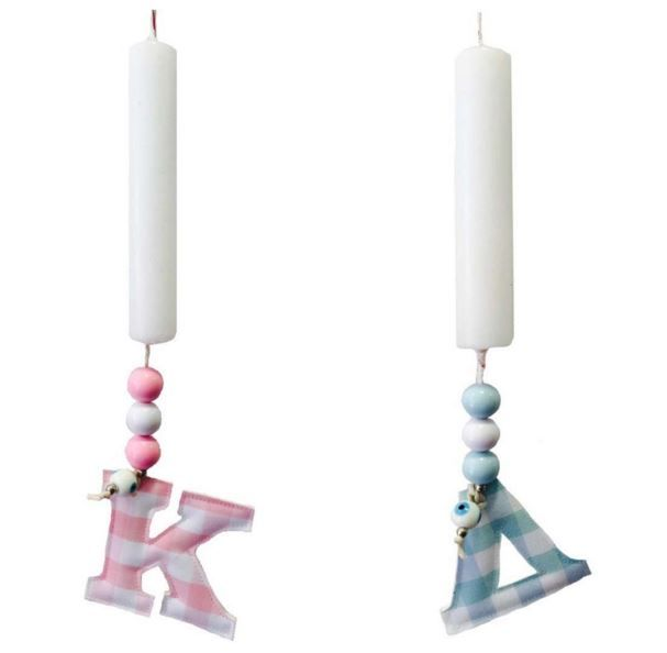 Getting in the mood with our new personalized Easter candles now available online!!