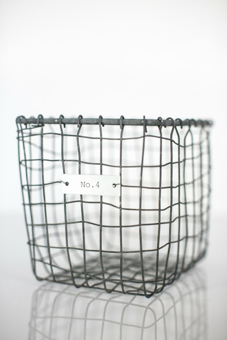 House Doctor Wire Storage Basket available at Superette #superettestore #storage #basket