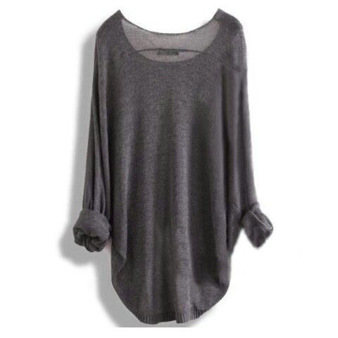 Baggy/loos fitting longer shirts/sweatshirts!