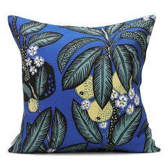 Josef Frank Pillow. His prints are gorgeous!