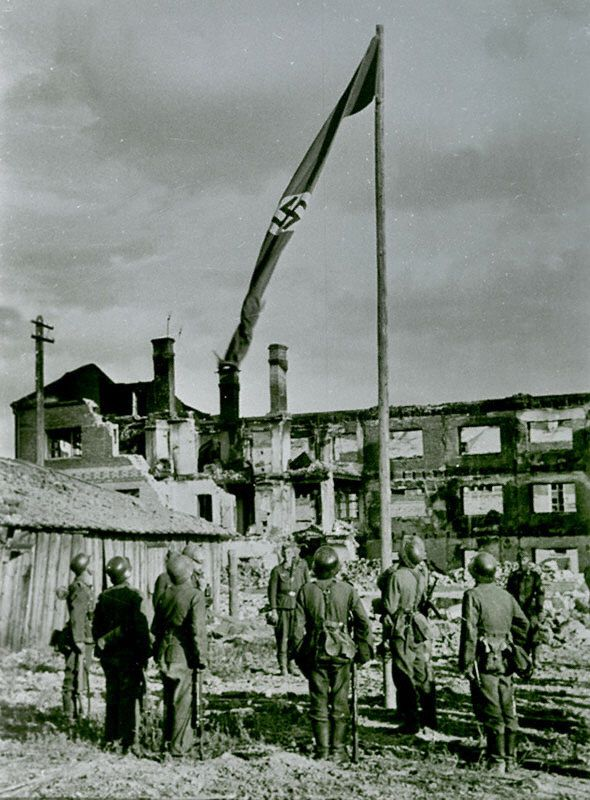 A recollection of the battle of stalingrad in 1942
