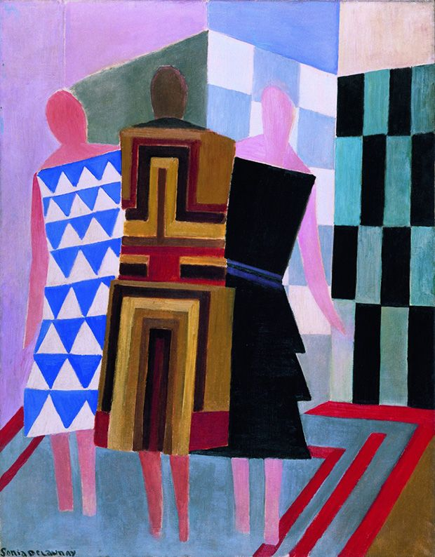 Sonia Delaunay at The Tate (and me!)