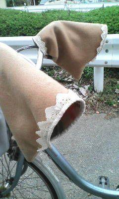 チクチクのひとりごと♪ 自転車ハンドルカバー