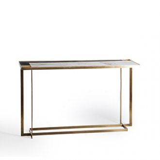 Gary console table