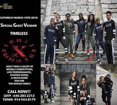 >SATURDAY MARCH 10 2018< < Follow our page @tazzlp ______________________________ SPECIAL GUEST VENDOR ______________________________ UDE MODELS MANAGEMENTPRESENTS NYC SEXY CURVY DIVASMODELS COMPETITION & FASHION ROCKZ LIVE @ THE WATSON HOTEL 440 W57 STREET NY ______________________________ EXPECTED: Special Industry Guests Fashion RockZ Fashion Show Live Entertainment Divas Model Competition Vendors Shopping Spree ............& MUCH MUCH MORE!! COME OUT SUPPORT & NETWORK ARRIVE EARLY…