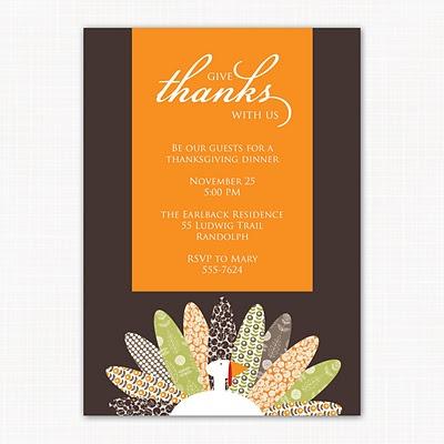 Thanksgiving Invite