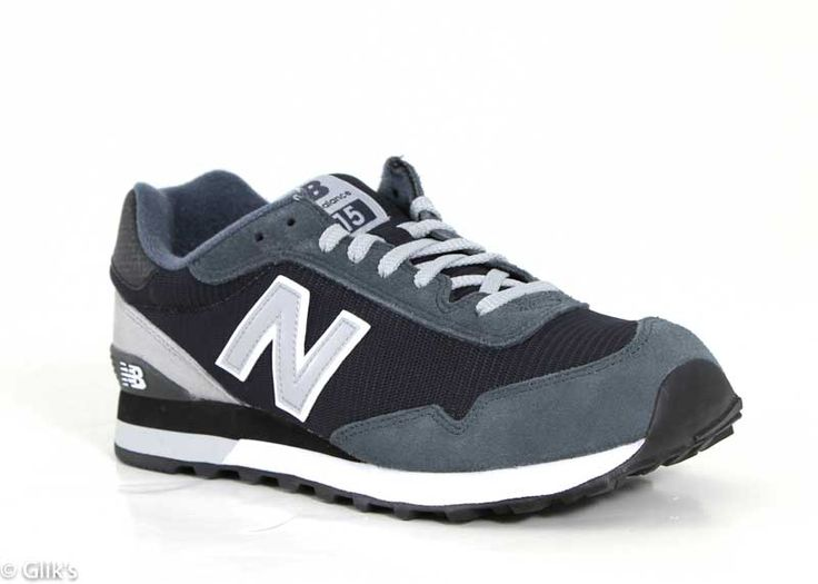 New Balance Shoes for Men in 515 Dark Grey Suede ML515CCF