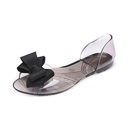 Oferta: 16.06€. Comprar Ofertas de TMKOO zapatos de las sandalias del verano 2017 sandalias del verano mujeres zapatos planos, zapatos de la jalea cabeza de pes barato. ¡Mira las ofertas!