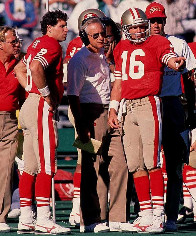 steve young | Steve Young and Joe Montana