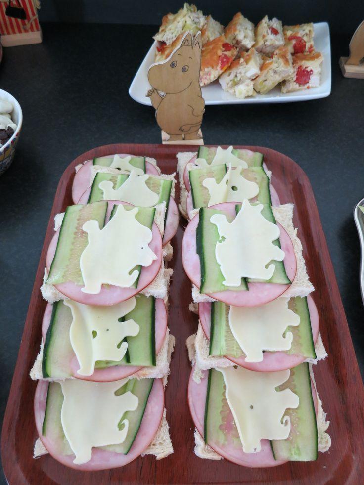 Moomin shaped cheese