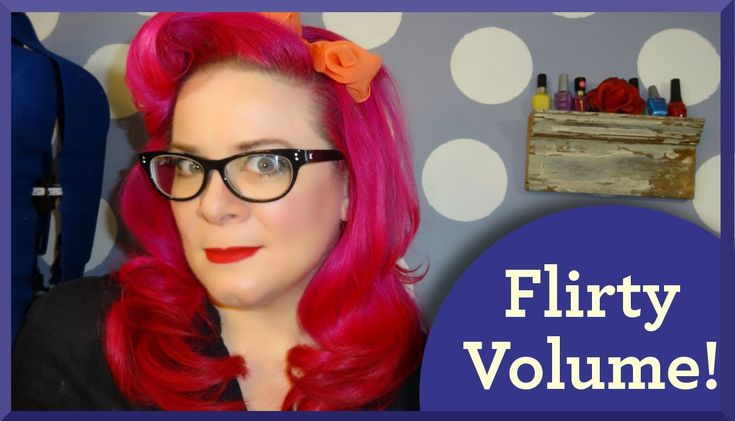 Rockabilly Mod Hairstyle {Perfect for the Spring} A Vintage Hair Tutorial
