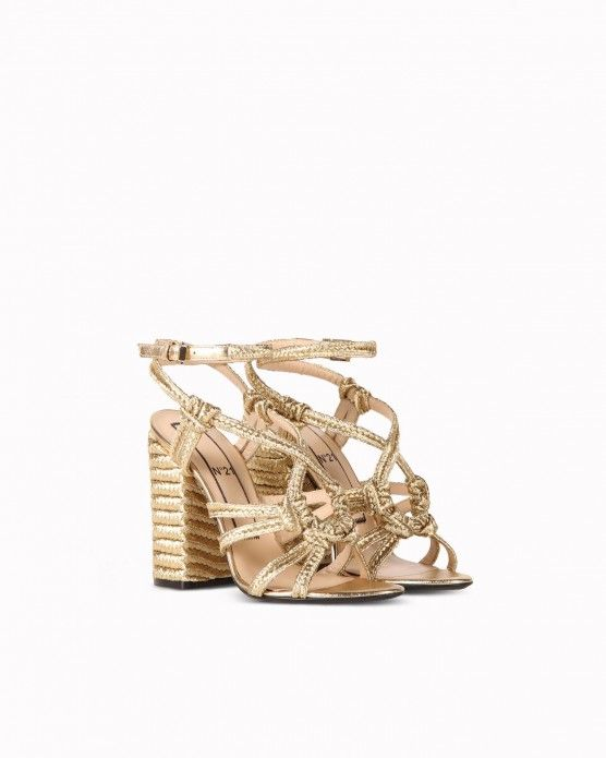 Sandals with strap details N°21 #N21 #sandals #gold #fashion #style #stylish #love #socialenvy #me #cute #photooftheday #beauty #beautiful #instagood #instafashion #pretty #girl #girls #styles #outfit #shopping