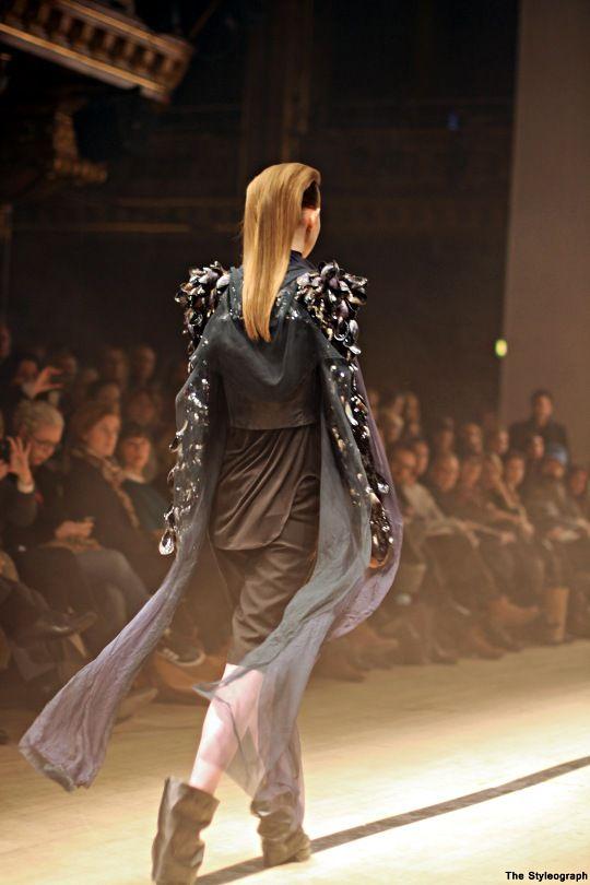Maria Nordström Dress Fashion Show Photose
