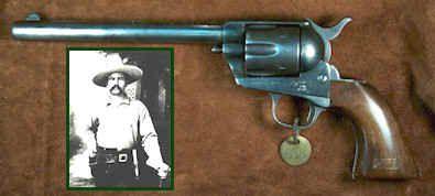 "❦ Texas Ranger J. M. Britain's ""Frontier Army"" Colt Revolver"