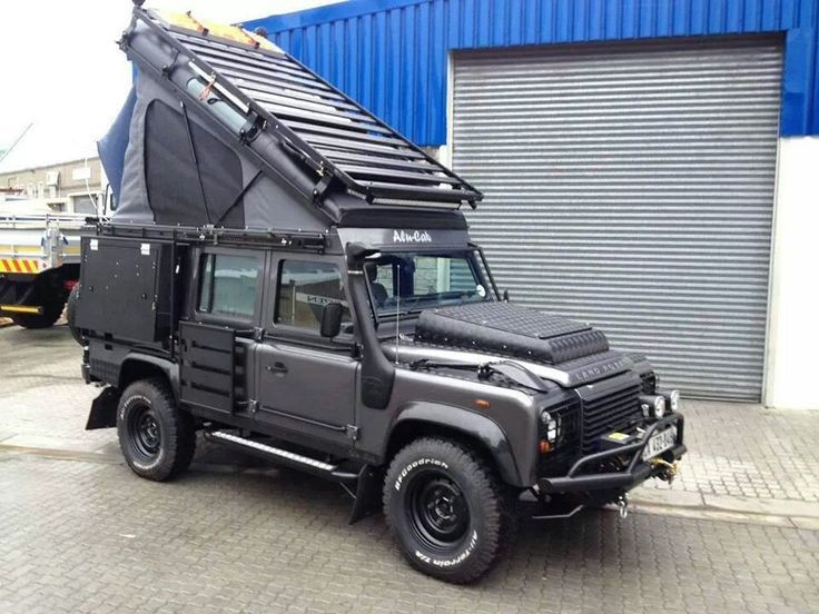 17 Best Images About Land Rover Campers On Pinterest