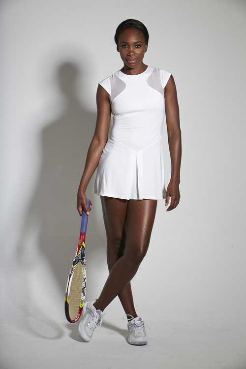 Venus William's new tennis dress for Wimbledon.