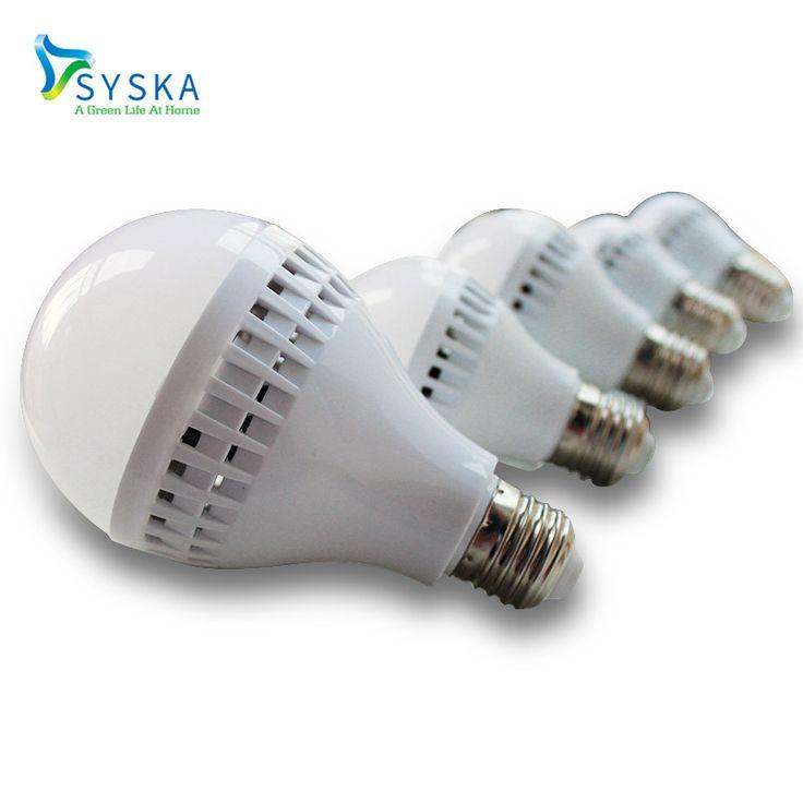 5pcs/lot 3W 5W 7W 9W Daylight E27 Low Price Screw Base LED Bulb 6400K 220V SMD5730 Lampada LED Lamp Light  201715 #Affiliate