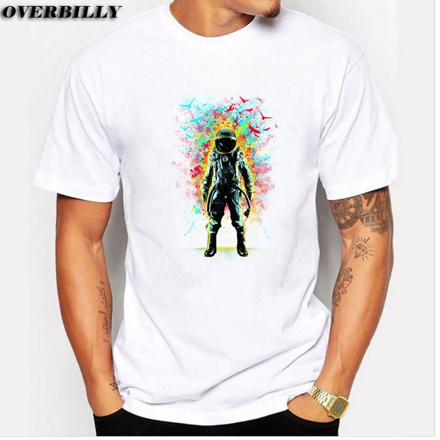Subconscious Inner Space printed Shirts Short-sleeve tee Custom Design Mens Big Size Your Own T Shirt 6 colors available