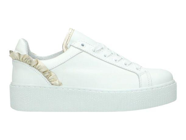 Sneaker TANGO 242979 CHANTAL 57-C WHITE/GOLD | CHANTAL 57-C WHITE/GOLD | BERCA.BE | Schoenen online kopen | Gratis verzending | Niet tevreden, Geld Terug | 100% Veilig | Zeer grote keuze