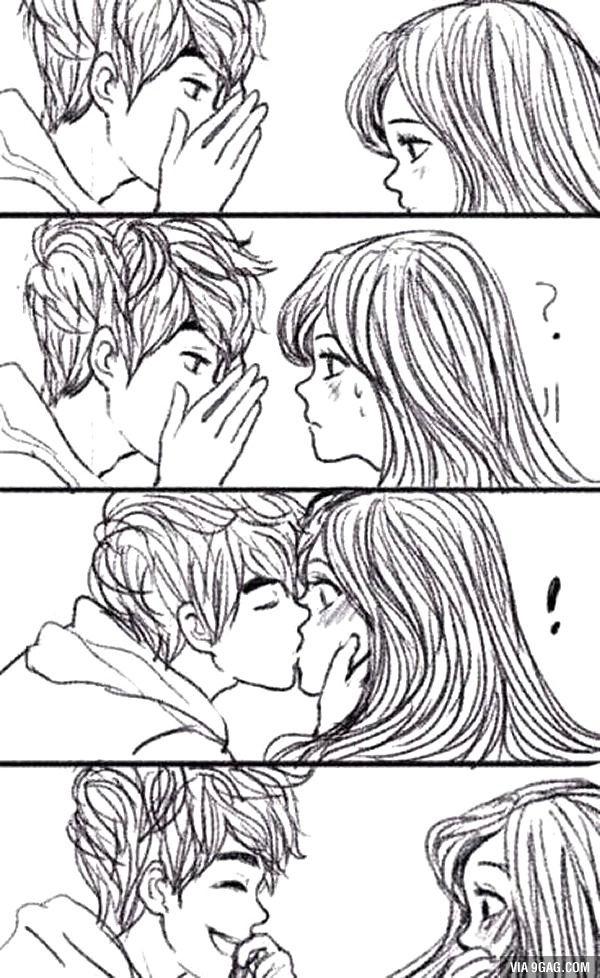 Técnica para Beijo Surpresa                                                                                                                                                                                 Mais