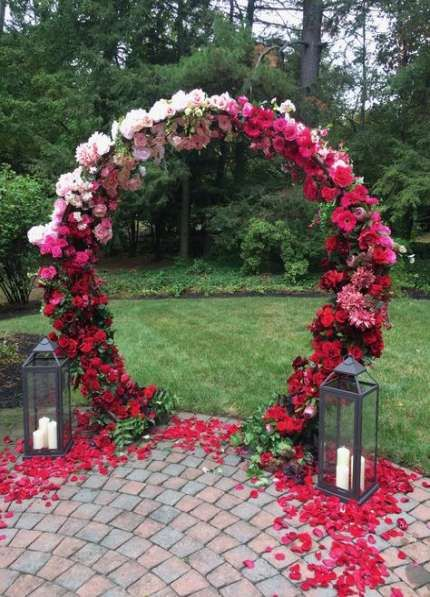 41+ Ideas wedding decorations backdrop floral arch