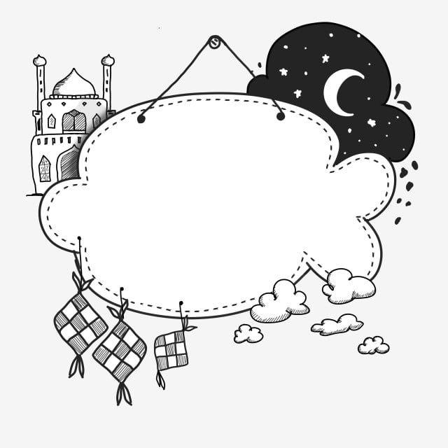 Ketupat Doodle Handrawn Frame Ramadan Kareem Ketupat Idul Fitri Culture Png Transparent Clipart Image And Psd File For Free Download Ramadan Kareem Ramadan Images Ramadan